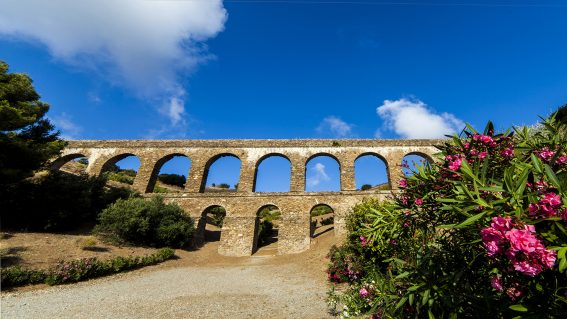Acueducto y Termas romanas