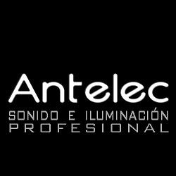 logo ANTELEC – Sonido e iluminación profesional