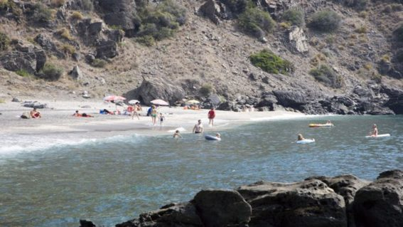 Playa de Curumbico